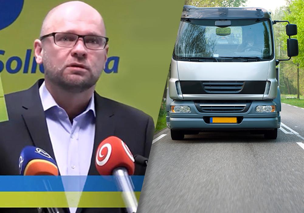 Richard Sulík o autodopravcoch