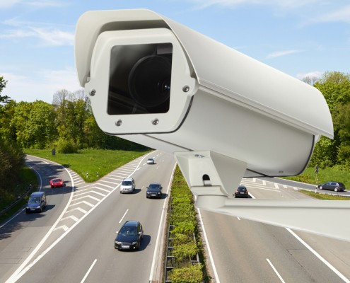 Kontrola diaľničných známok kamerami