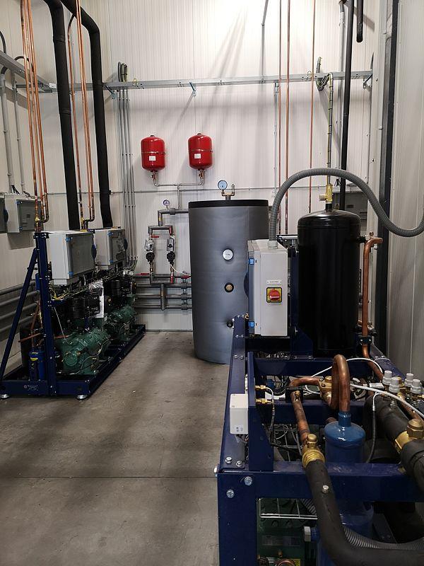 Skladové priestory, technológia chladenia a mrazenia