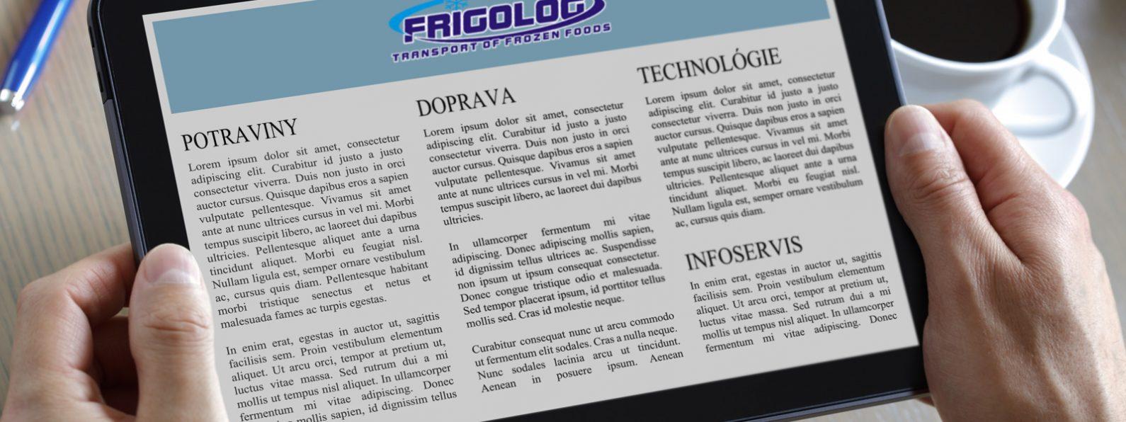 Infoservis - Frigolog